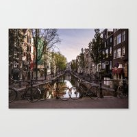 Early Morning, Amsterdam Canvas Print