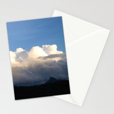 Red Rock in Shade Stationery Cards