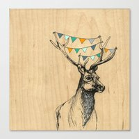 Where's the party? Canvas Print