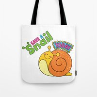 Save a Snail Today! Tote Bag