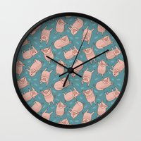 Pattern Project #52 / Pi… Wall Clock