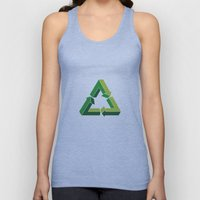 Recycle Infinitely Unisex Tank Top