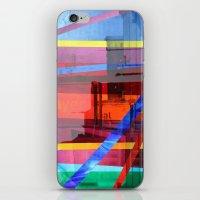 Distortion 3 iPhone & iPod Skin
