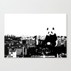 Giant Panda Invades Toa Payoh. Canvas Print