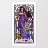 Zodiac Art Show - Scorpi… Art Print