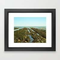 Bowling Ball Beach XIII Framed Art Print