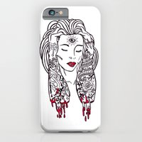 iPhone & iPod Case featuring Queen of disaster by bloodpurple