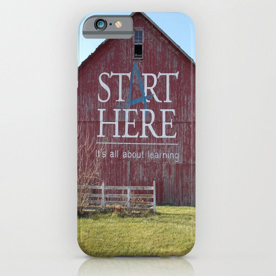 Start Here, It's All About Learning iPhone & iPod Case