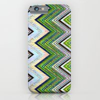Emerald Chevron iPhone 6 Slim Case