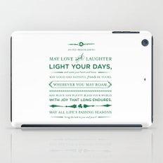Irish Blessing iPad Case