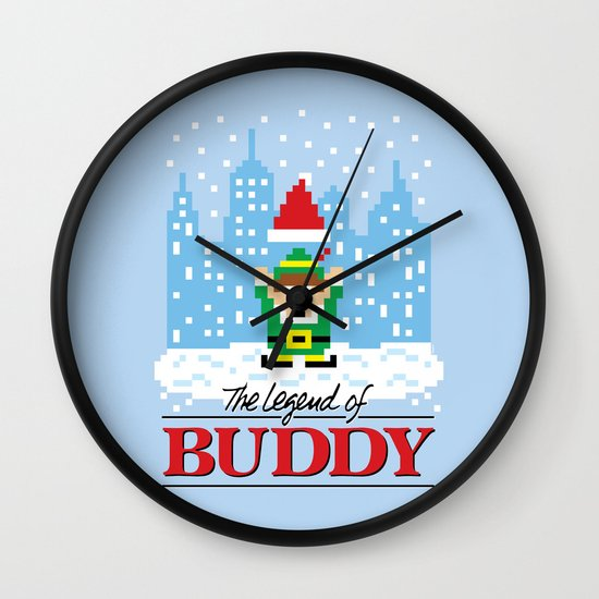 The Legend of Buddy Wall Clock