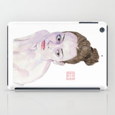 Portrait Of A Ballerina iPad Case