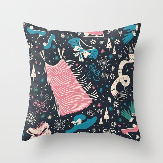 Frou Frou Throw Pillow