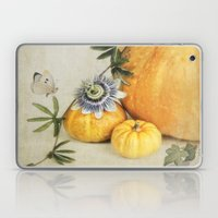 Pumpkin & Passiflora Laptop & iPad Skin