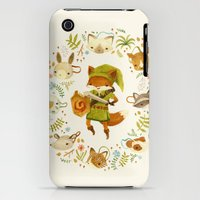 iPhone 3Gs & iPhone 3G Cases featuring The Legend of Zelda: Mammal's Mask by Teagan White
