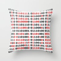 NERD INSIDE Throw Pillow