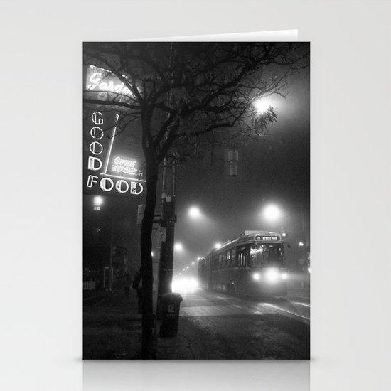 A Streetcar Named Noir Stationery Card
