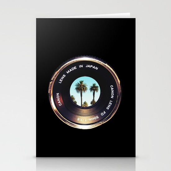 focus on palms Stationery Card