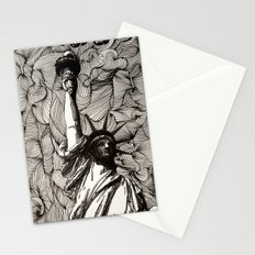 Lady Liberty Got nothing on me. Stationery Cards