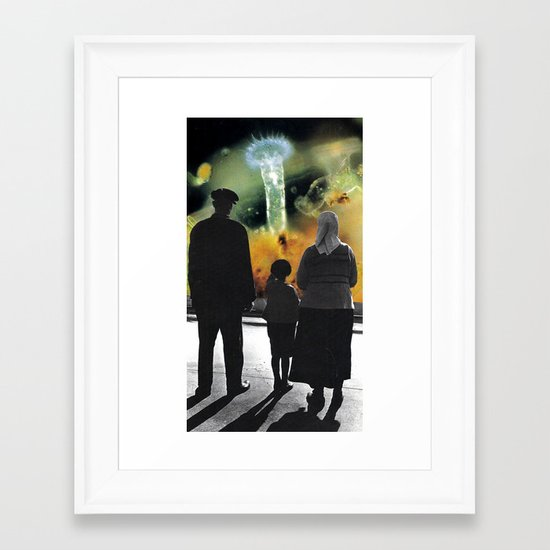 hall... Framed Art Print