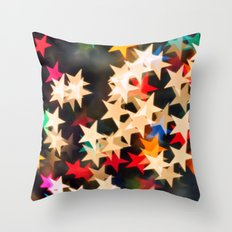 Oh Starry Night Throw Pillow