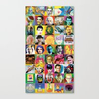 POP Wallpaper Canvas Print