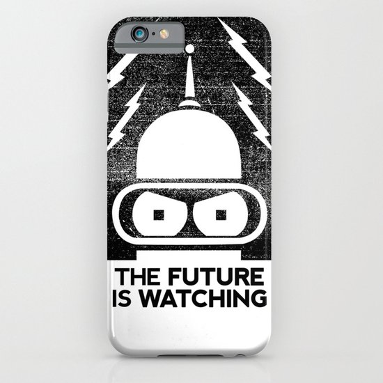 The Future Is Watching iPhone & iPod Case