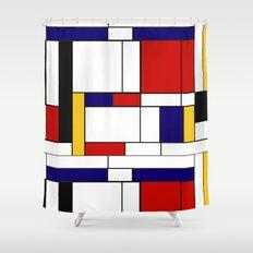 Mondrain Shower Curtain
