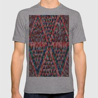 Colores Loco Mens Fitted Tee Athletic Grey SMALL
