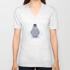 Emperor Penguin Unisex V-Neck