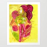 The King of Joy  Art Print