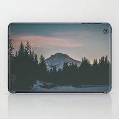 Frozen Mirror Lake iPad Case