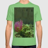 Cacti and Ruins 1 Mens Fitted Tee Grass SMALL