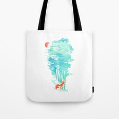 Summer in the Woods Tote Bag