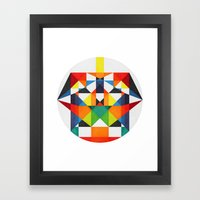 Color Therapy Framed Art Print
