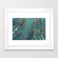 Treescape  Framed Art Print