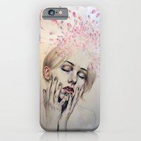 iPhone & iPod Case featuring Burst Apart by KatePowellArt