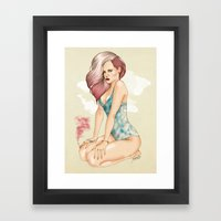 Unapologetic Rihanna Framed Art Print