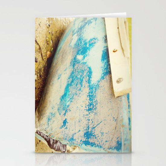 cape cod blue Stationery Card