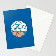 Beach Volleyball Stationery Cards