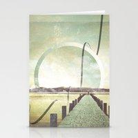 Southern Lights Stationery Cards