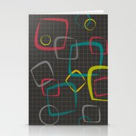 Graph  Stationery Cards