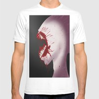 Mindnumbing Pain Mens Fitted Tee White SMALL