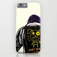 iPhone & iPod Case featuring Just watch me by Mars Dorian