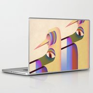 Laptop & iPad Skin featuring Figure #1 by Julia Sonmi Heglund