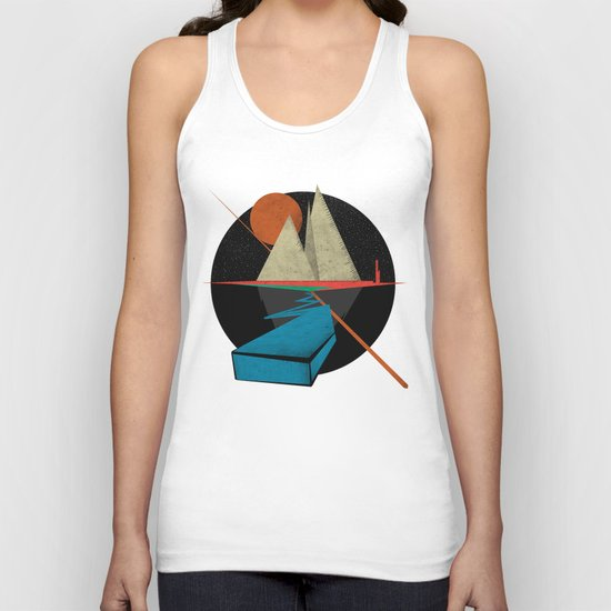 Mountain & Stars Unisex Tank Top