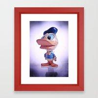 Duck #1 Framed Art Print