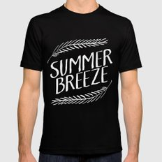Summer Breeze II Black SMALL Mens Fitted Tee