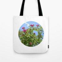 Summer Wild Rose VII Tote Bag