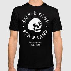 SALT & SAND Black SMALL Mens Fitted Tee